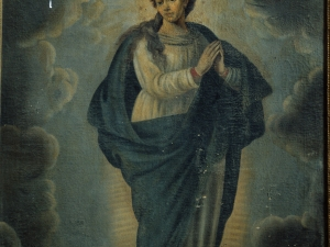 Iglesia parroquial de Nuestra Señora de la Asunción. Pintura. Inmaculada Concepción