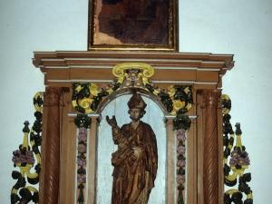 Ermita de San Blas. Retablo de San Blas
