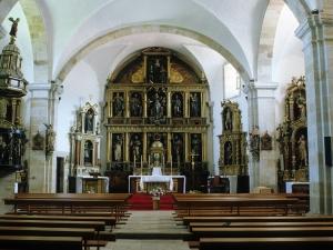 Iglesia parroquial de Nuestra Señora de la Asunción. Retablo de Nuestra Señora de la Asunción