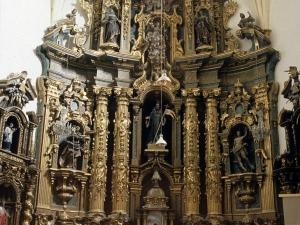 Iglesia parroquial de San Millán. Retablo de San Millán