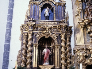 Iglesia parroquial de San Millán. Retablo del Sagrado Corazón de Jesús