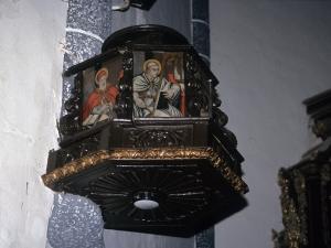 Iglesia parroquial de San Millán. Púlpito