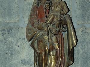 Iglesia parroquial de San Millán. Escultura. Virgen del Rosario