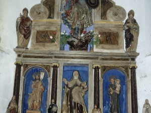 Ermita de San Miguel. Retablo de San Miguel Arcángel