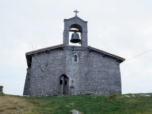 Ermita de Santa Engracia en Aizarna.