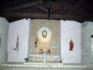 Ermita de Santa Engracia en Aizarna. Altar