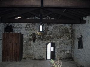 Ermita de Santa Engracia en Aizarna. Interior