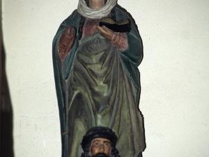 Iglesia parroquial de Nuestra Señora de la Asunción. Escultura. Santa Catalina de Alejandría