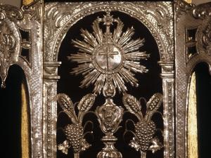 Iglesia parroquial de Nuestra Señora de la Asunción. Altar portátil
