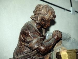 Iglesia parroquial de Nuestra Señora de la Asunción. Escultura. Ángeles