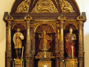 Ermita de San Gregorio. Retablo de San Gregorio