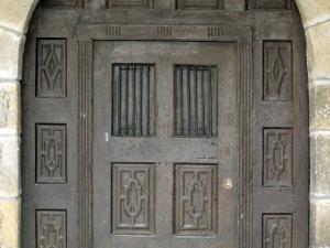 Ermita de San Gregorio. Puerta