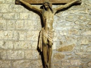 Ermita de Santa María de la Antigua. Escultura. Cristo Crucificado