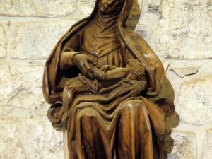 Ermita de Santa María de la Antigua. Escultura. Piedad