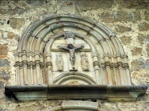 Ermita de Santa María de la Antigua. Escultura. Andra Mari