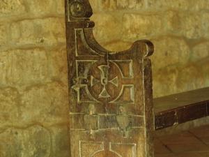 Ermita de Santa María de la Antigua. Banco