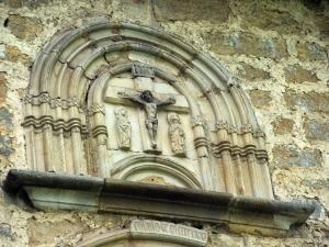 Ermita de Santa María de la Antigua. Calvario. Relieve