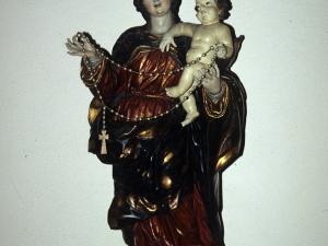 Iglesia parroquial de San Agustín de Aizpurutxo. Escultura. Virgen del Rosario