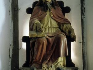 Iglesia parroquial de San Martín de Tours de Aginaga. Escultura. San Martín de Tours