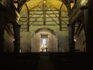 Ermita de Santa María de la Antigua. Interior