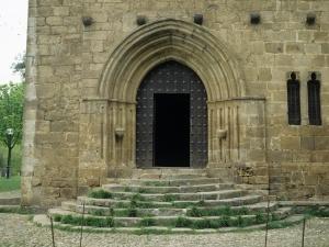 Ermita de Santa María de la Antigua. Portada