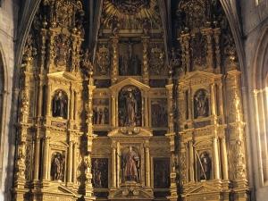Iglesia parroquial de San Esteban. Retablo de San Esteban