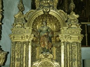 Iglesia parroquial de San Esteban. Retablo de Santa Catalina de Alejandría