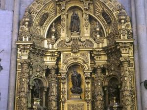Iglesia parroquial de San Esteban. Retablo de San José