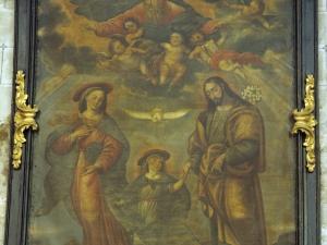 Iglesia parroquial de San Esteban. Pintura. Sagrada Familia
