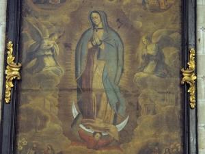 Iglesia parroquial de San Esteban. Pintura. Virgen de Guadalupe