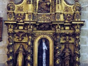 Iglesia parroquial de San Esteban. Retablo de la Dolorosa