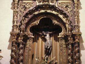 Iglesia parroquial de San Esteban. Retablo de Santo Cristo
