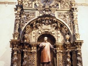 Iglesia parroquial de San Esteban. Retablo de San Ignacio de Loyola
