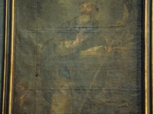 Iglesia parroquial de San Esteban. Pintura. Santo
