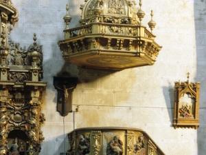 Iglesia parroquial de San Esteban. Púlpito