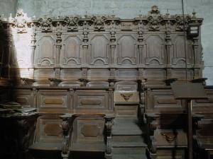Iglesia parroquial de San Esteban. Sillería