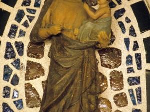 Capilla de Altzibar. Escultura. Andra Mari
