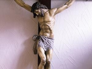Iglesia parroquial de Salbatore. Escultura. Cristo Crucificado