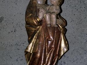 Iglesia parroquial de Salbatore. Escultura. Andra Mari