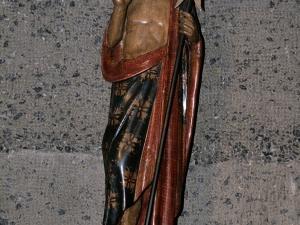 Iglesia parroquial de Salbatore. Escultura. Salvador