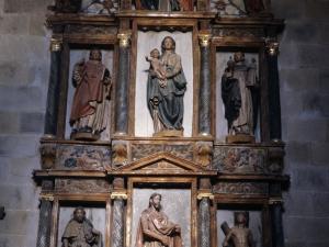 Ermita de San Juan. Retablo de San Juan Bautista