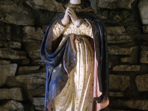 Ermita de la Inmaculada Concepción de Osentzio. Escultura. Inmaculada Concepción