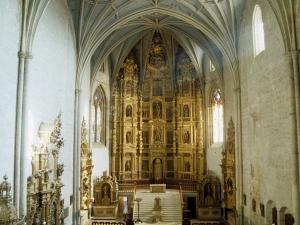 Iglesia parroquial de San Esteban. Retablo mayor de la iglesia de San Esteban
