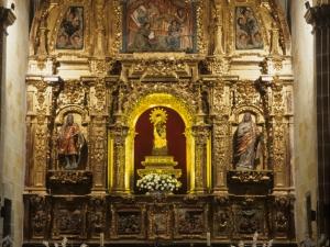 Santuario de Nuestra Señora de Dorleta. Retablo de la Virgen de Dorleta