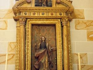 Santuario de Nuestra Señora de Dorleta. Retablo de Santa Lucía