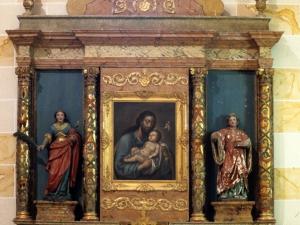 Santuario de Nuestra Señora de Dorleta. Retablo de San José