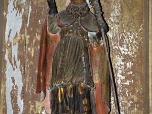 Ermita de San Martín. Escultura. San Martín de Tours