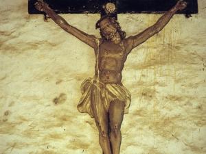 Ermita de San Martín. Escultura. Cristo Crucificado