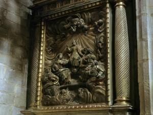 Iglesia parroquial de San Miguel Arcángel. Retablo de la Sagrada Familia