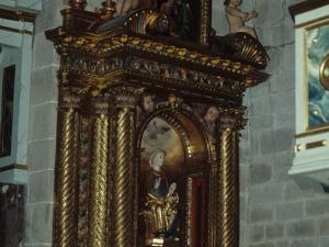 Iglesia parroquial de San Miguel Arcángel. Retablo de la Virgen de la Esperanza
